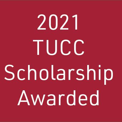 2021 tucc scholarship awarded