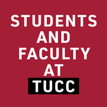Students and Faculty at TUCC